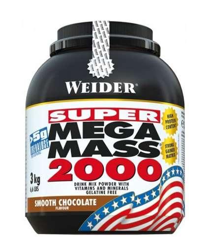Weider Mega Mass 2000, 3000g