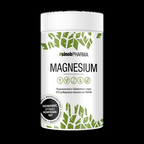Blackline 2.0 Sinob Magnesium Citrat, 120 Tabletten