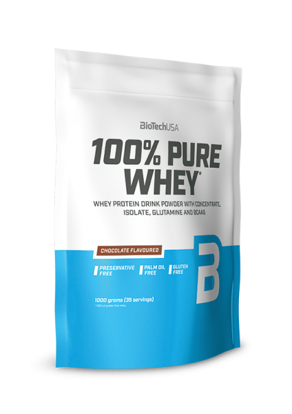 Biotech USA 100% Pure Whey Protein, 1000g