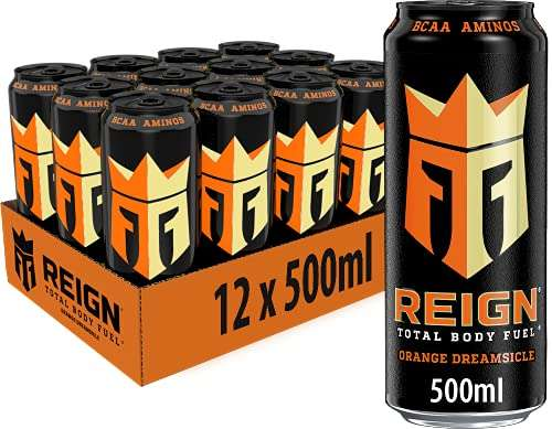 Reign Total Body Fuel Energy 12er Pack (12x500ml), 6l