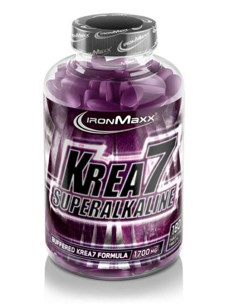 IronMaxx Krea7 Superalkaline, 180 Tabletten