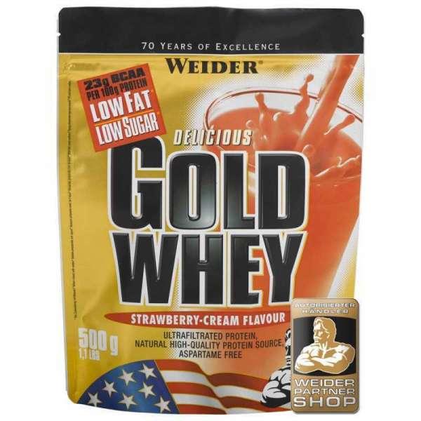 Weider Gold Whey Protein, 500g