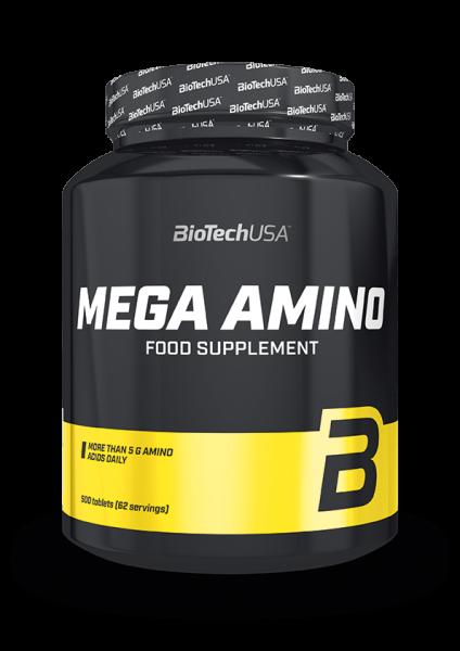 Biotech USA Mega Amino 3200, 500 Tabletten