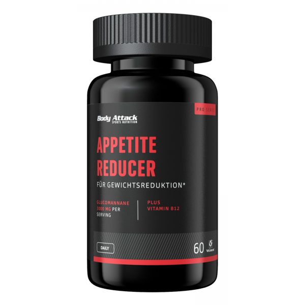 Body Attack Appetite Reducer, 60 Kapseln