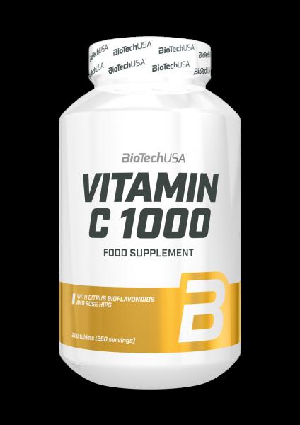 Biotech USA Vitamin C 1000, 250 Tabletten