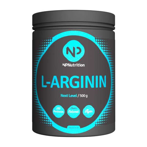 NP Nutrition L-Arginin HCL, 500g
