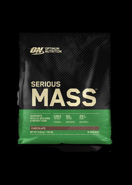 Optimum Nutrition Serious Mass, 5450g