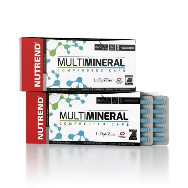 Nutrend Multimineral Compressed, 60 Kapseln