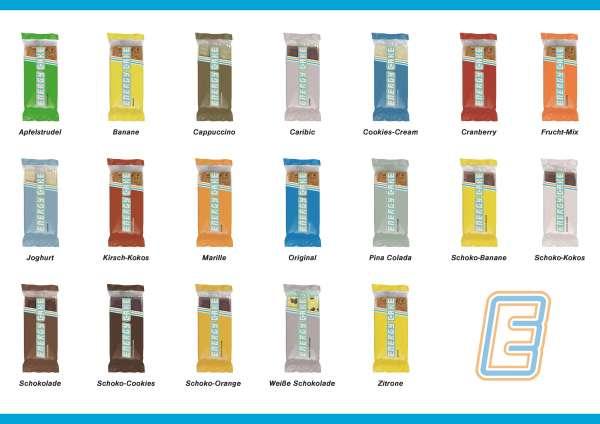 Energy Cake Mix-Karton 24 x 125g