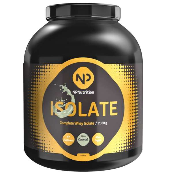 NP Nutrition Isolate Complete, 2020g