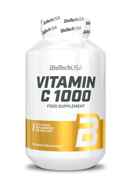 Biotech USA Vitamin C 1000, 100 Tabletten