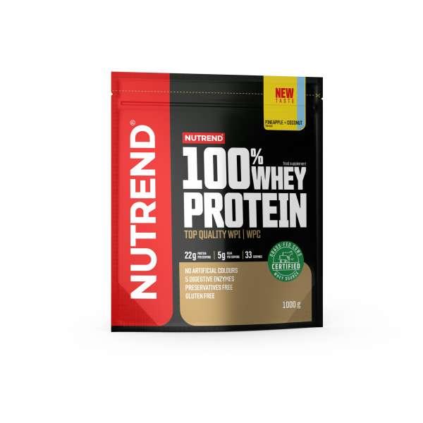 Nutrend 100% Whey Protein, 1000g
