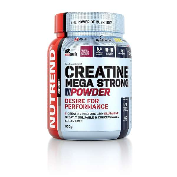 Nutrend Creatine Mega Strong Powder, 500g