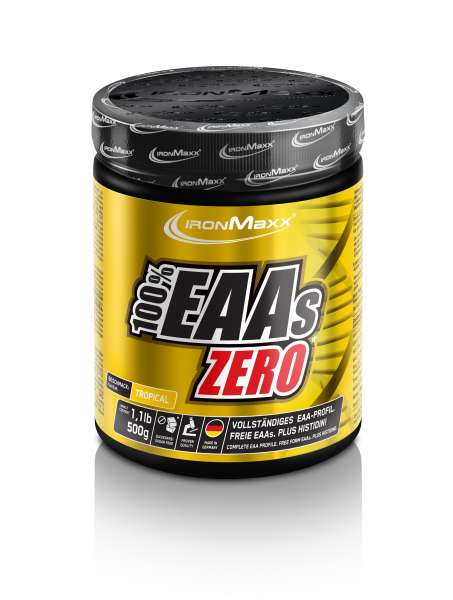 IronMaxx 100% EAAS Zero, 500g