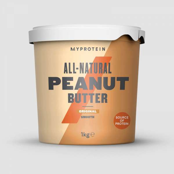 MyProtein All-Natural Peanut Butter, 1000g