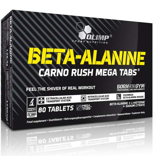Olimp Beta Alanin Carno Rush, 80 Tabletten