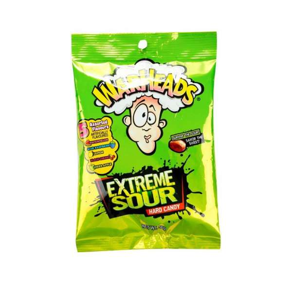 Impact Confections Warheads Extreme Sour Hard Candy, 28g