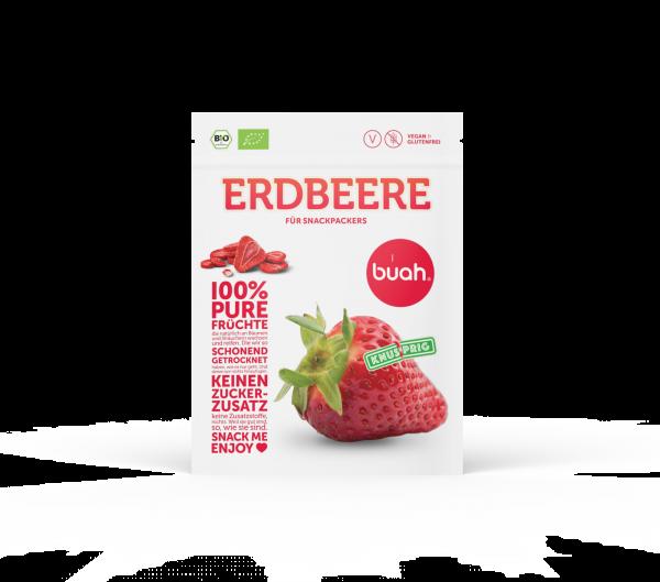 buah Gefriergetrocknete Erdbeeren, 12g