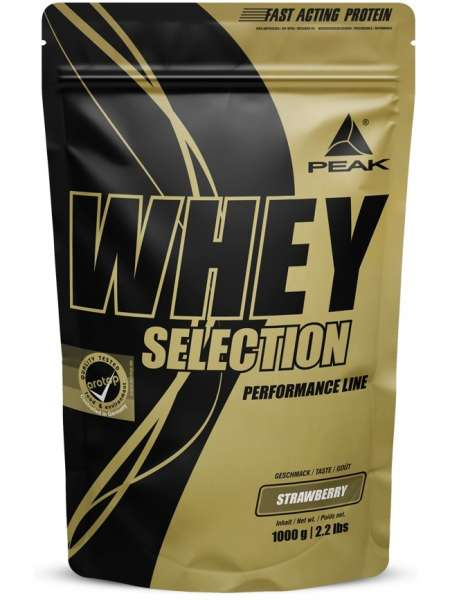 Peak Whey Selection, 1000g