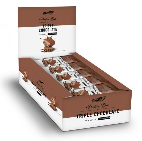 GOT7 Nutrition Protein Bar Triple Chocolate 15 x 60g