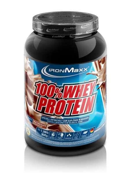 Ironmaxx 100% Whey Protein Dose, 900g
