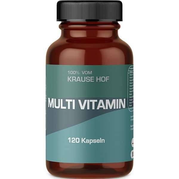 Krause Hof Multivitamin (Vitamin/Mineral Complex), 120 Kapseln