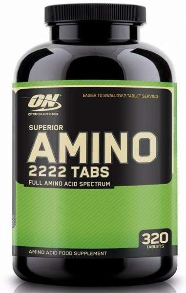 Optimum Nutrition Amino 2222, 320 Tabletten