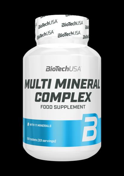 Biotech USA Multi Mineral Complex, 100 Tabletten