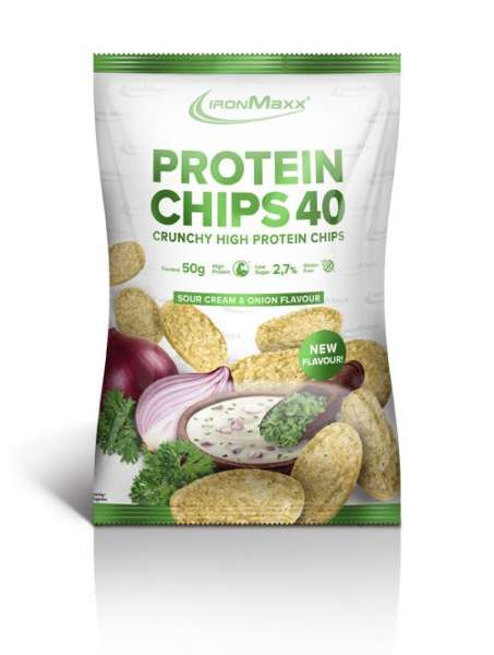 IronMaxx Protein Chips 40, 50g