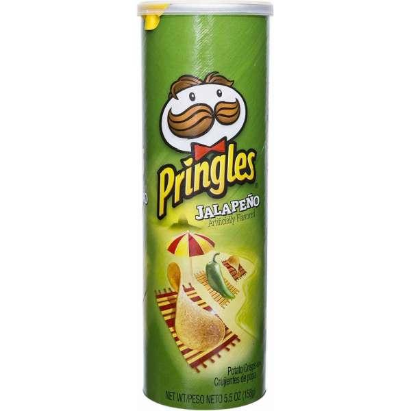 Pringles Jalapeno, 158g