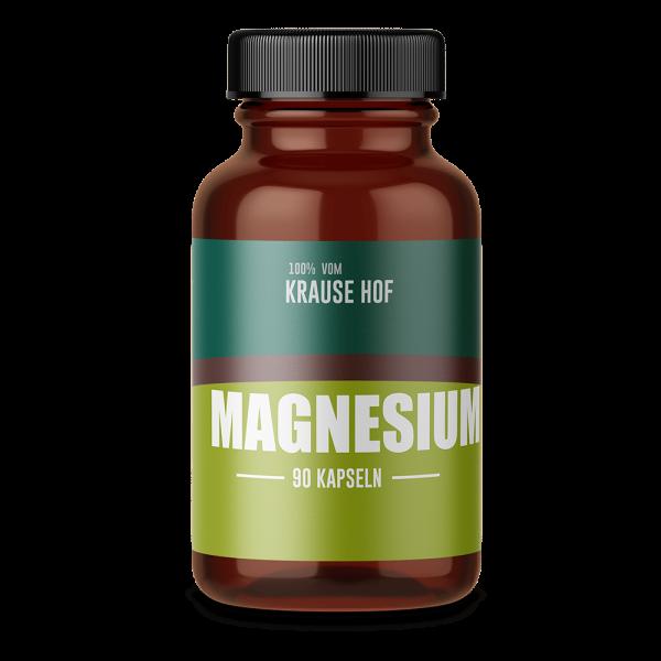 Krause Hof Magnesiumcitrat, 90 Kapseln
