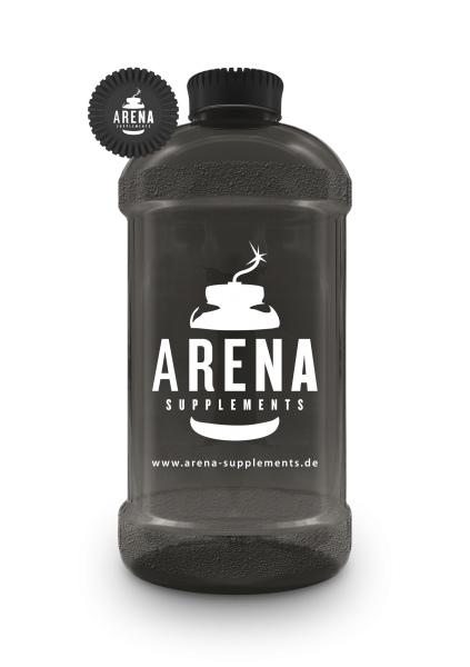 Arena Supplements Gallon Schwarz ,2200 ml