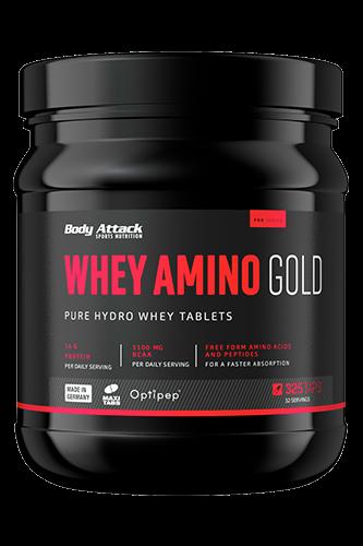 Body Attack Whey Amino Gold, 325 Tabletten