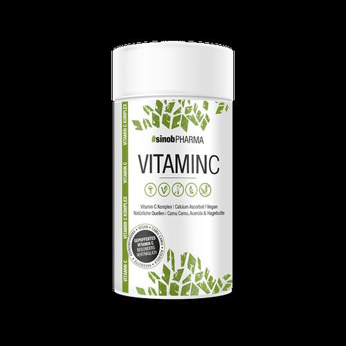 Blackline 2.0 Sinob gepuffertes Vitamin C, 60 Kapseln