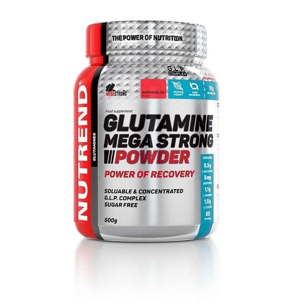 Nutrend Glutamine Mega Strong Powder, 500g