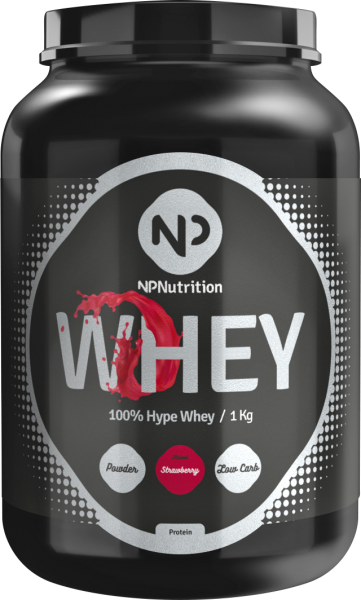 NP Nutrition 100% Hype Whey, 1000g