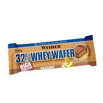 Weider 32% Whey-Wafer Haselnuss, 35g