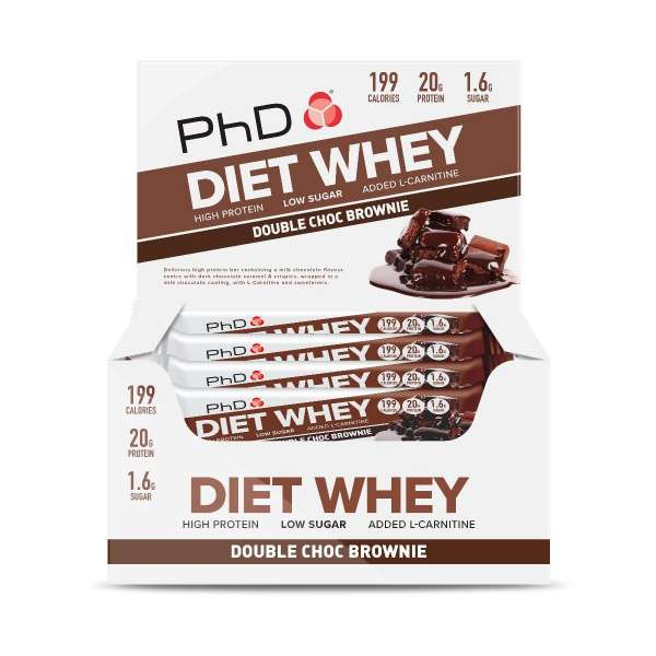PhD Diet Whey Bar, 65g