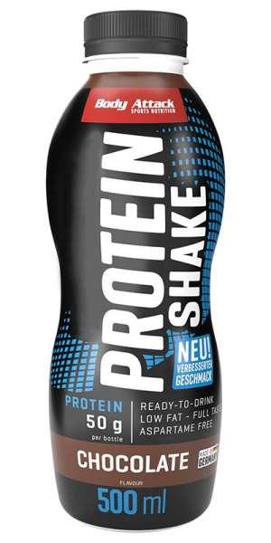 Body Attack High Protein Shake, 500ml