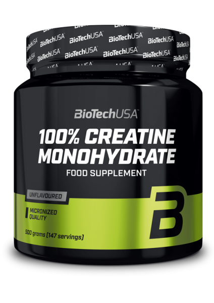 Biotech USA 100% Micronized Creatine Monohydrate Dose, 500g