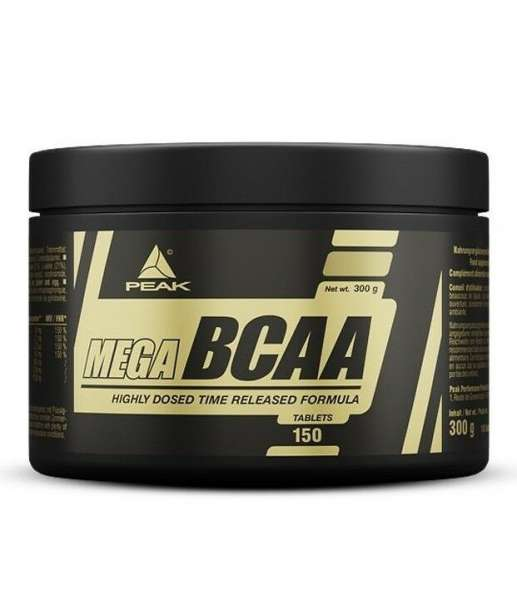 Peak Mega BCAA, 150 Tabletten
