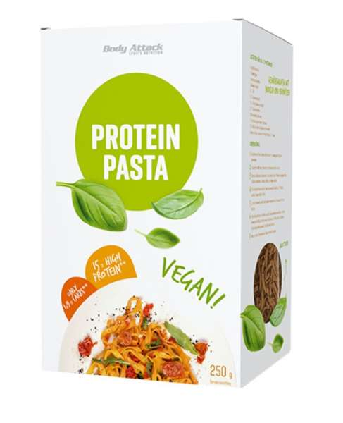 Body Attack Protein Low-Carb* Pasta Vegan, 250g