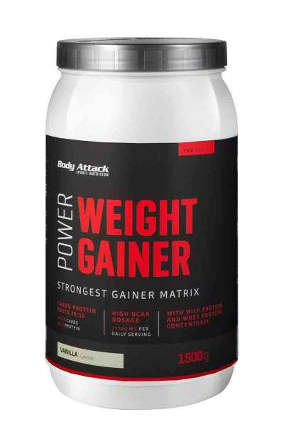 BODY ATTACK Power Weight Gainer, 1500g