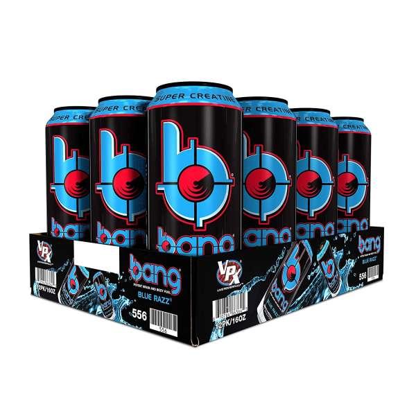 Bang Energy Drink, 24x500ml 12L