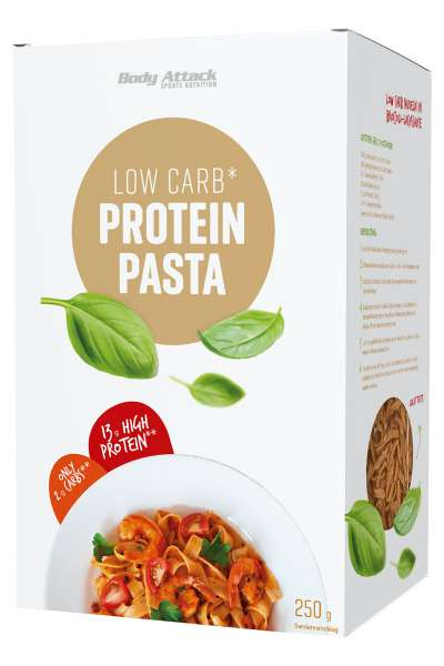 Body Attack Low Carb* Protein Pasta, 250g