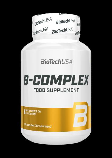 Biotech USA B-Complex, 60 Kapseln
