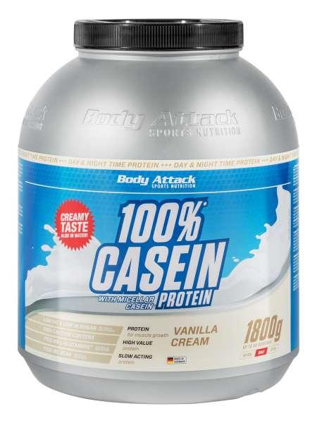 Body Attack Casein Protein, 1800g