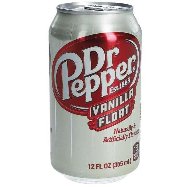 Dr. Pepper USA-Drink Vanilla Float, 12 x 355ml