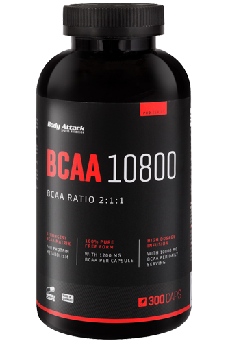 Body Attack BCAA 1080, 300 Kapseln