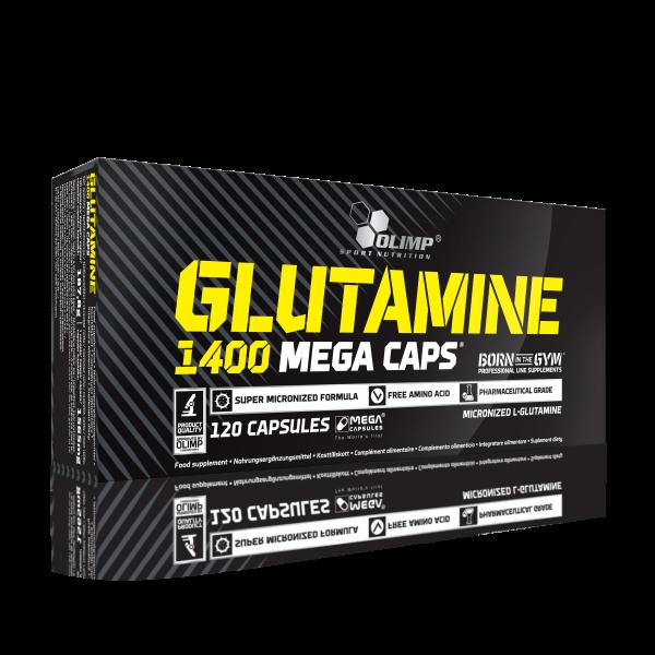 Olimp L-Glutamine Mega Caps 1400, 120 Kapseln